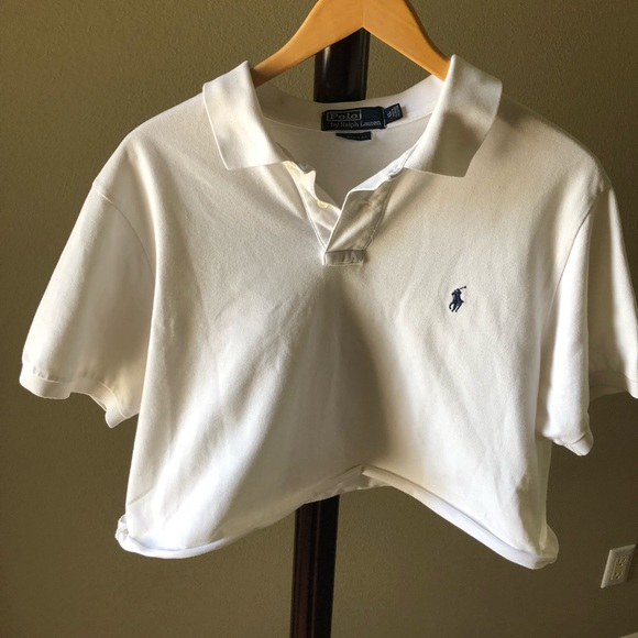 Cropped Ralph Lauren Polo. M 5b8889f1bf77290adc8549a8. Other Tops you may  like. Polo shirt 767efc8119cd